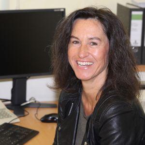 Sekretärin Nicole Hofmeister